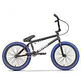 GASLIKE Bicicleta BMX de 20 Pulgadas para Ciclistas Principiantes a avanzados, Cuadro de Acero al Cromo molibdeno de Alta Resistencia, Engranaje BMX 25x9T