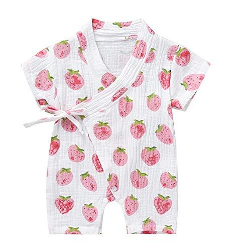 Kantenia Roupas para meninos Meninas Jumpsuit Romper One-Piece Robe Kimono Algodão Verão Infantil Kimono Outfit japonês