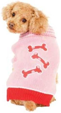 cheap Ranking TOP13 Fashion Pet Pink Bonz Dog Sweater Medium