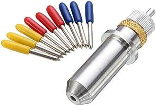 ZHFENG 9pcs / Set 30/45/60 Grado Roland Plotter de corte del soporte de carburo de cuchillas del cortador del vinilo + Cuchilla Roland Accesorios para equipos herramientas: Amazon.es: Bricolaje y herramientas