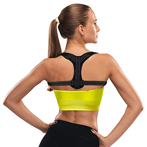 Posture Corrector for Women and Men,Comfortable and Adjustable Back Straightener, Upper Back...