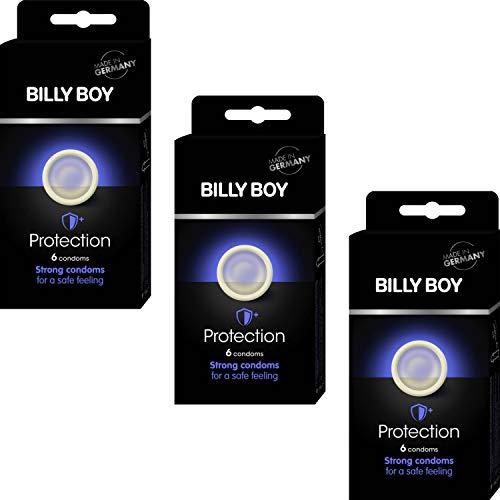 Billy Boy Protection (Sicheres Gefühl) Kondome – transparente Kondome mit mehr Wandstärke (18)