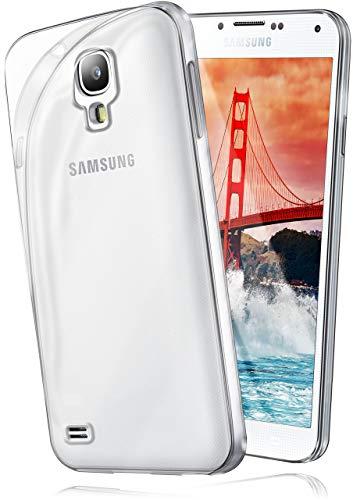 moex Aero Case für Samsung Galaxy S4 - Hülle aus Silikon, komplett transparent, Handy Schutzhülle Ultra dünn, Handyhülle durchsichtig - Klar