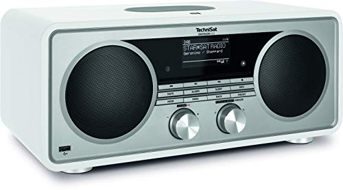 TechniSat DIGITRADIO 601 – Stereo Internetradio (DAB+, UKW, Subwoofer, Fernbedienung, CD-Player, USB, Bluetooth, AUX, WLAN, LAN, Radiowecker, Spotify Connect, Wireless Charging, Alexa Sprachsteuerung)