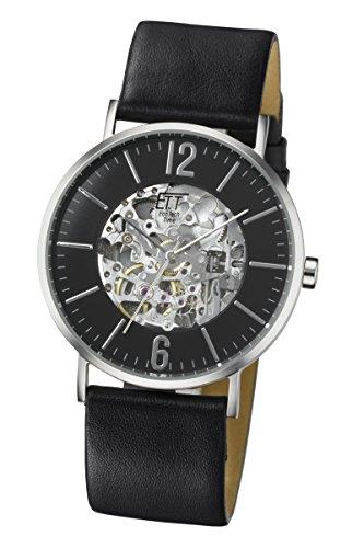 ETT Eco Tech Time ETT Motion Drive EGS-40227-21L - Orologio da polso da uomo, cinturino in pelle colore nero