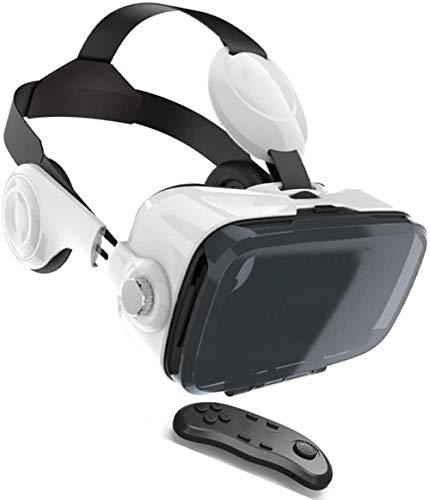 Auriculares VR Controlador Bluetooth de Auriculares de Realidad Virtual para iPhone 11 / Pro/X/XS/MAX/XR / 8P / 7P para teléfonos Samsung S20 / S10 / S9 / S8 / Plus/Note 10/9/8 con Pant