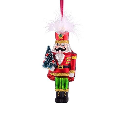 Gift Company Hänger Nussknacker m. Weihnachtsbaum