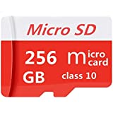 Micro SD Card 256GB High Speed Class 10 Micro...