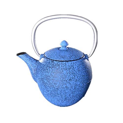 Yinglihua gietijzeren theepot 14x15cm met roestvrijstalen gietijzeren theepot Japanse theepot ontwerp huis alleen thee waterkoker voor kachel Top