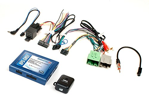 PAC RP5GM51 Radio Replacement Interface with SWC/OnStar Outputs for Select 2014 Chevrolet and GMC Trucks