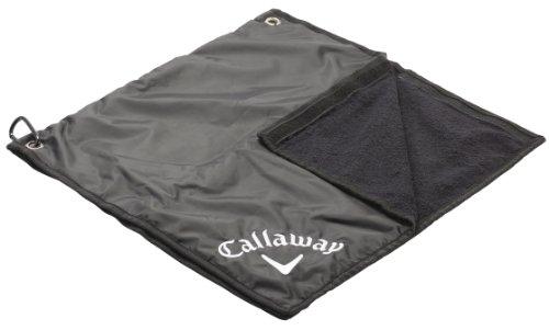 Callaway Rain Hood Golf Towel, 2-in-1
