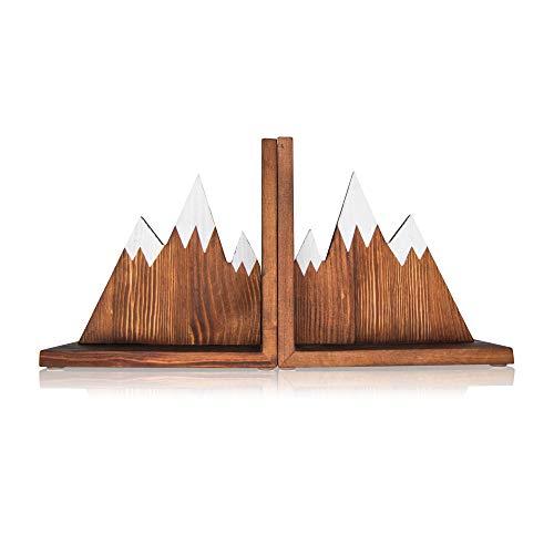 treeplay Holz Buchstützen | hochwertiges Kiefernholz | rutschfest und stabil | 2er Set