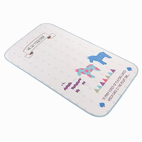 ZXDBK Veranderende Baby Luier Pad, Waterdichte Pad Baby, Zachte Urine Pads Absorberende Deken Sheet Bed Pads Wasbaar Matrasverander Mat Incontinentie Pads voor Kinderen en Volwassenen