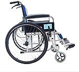 Fauteuil roulant électrique Léger renforcé léger manuel pliant en fauteuil...
