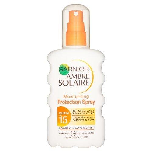 Ambre Solaire Ultra-hydrating Sun Cream Spray SPF15 200ml