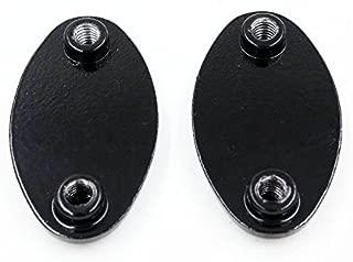 XKMT-Mirror Block Off Plates Compatible With 2005-2008 Kawasaki Ninja Zx6R Zx6Rr 636 Zx10R Black [B00YWCQAWY]