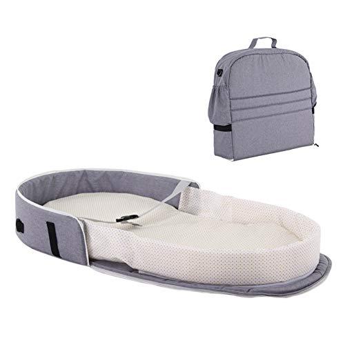 Baby Schlafkorb Säugling Stubenwagen Faltbarer Neugeborener Tragbarer Bett Travel Outdoor Rucksack