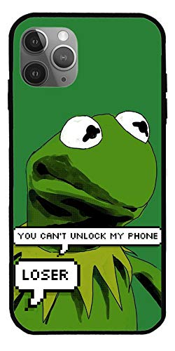 NHTEE Case Compatible with iPhone 6S Pepe The Frog Smug Super Cute Meme Pure Clear Glass Phone Cases Cover Full Body