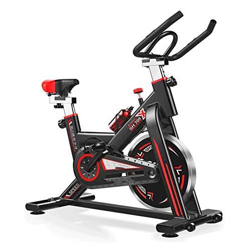 LCLLXB Indoorcycling Bike mit Spinning-Fahrrad Heimtrainer Indoor-Sportfahrrad Fitnessbike max.Nutzergewicht 160 kg