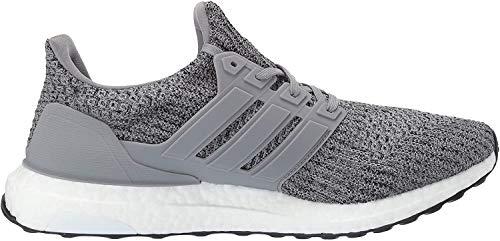 adidas Men's Ultraboost, Grey/Grey/Black, 5 M US