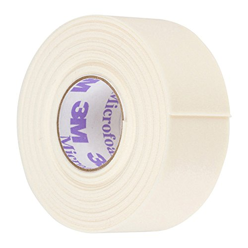 3M Microfoam Foam Tape for Eyelash Extension | Lint Free & Elastic for Best Fitting | Kind to Skin Better than Under Eye Gel Pads | Compatible with LashArt Blue Dispenser