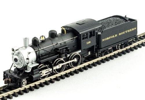 MDP N Scale Norfolk Southern 2-6-0 Mogul Model Train Steam Locomotive - Model Power 87650