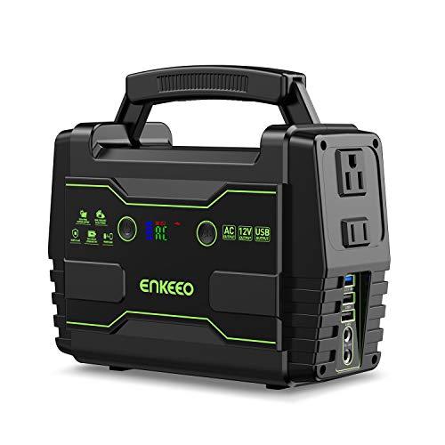 enkeeo ポータブル電源 S155 42000mAh/155Wh 家庭用蓄電池 LED大画面表示 AC(150W) DC(180W) USB出力 急速...