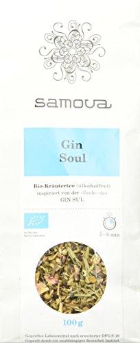 samova Gin Soul Bio-Kräutertee alkoholfrei Refill, 1er Pack (1 x 100 g)