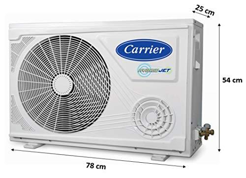 Carrier 1 Ton 5 Star Inverter Split AC (Copper, PM 2.5 Filter, 2019 Model, ESKO NEO HYBRIDJET INV R32CAI12EK5R39F0 White)