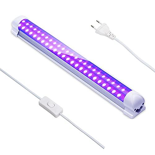 Eleganted 395nm 10W Tube LED Lumière Noire, 48Leds Barre de