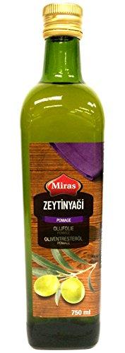 Miras Türkisches Oliventresteröl Olivenöl 750 ml - Zeytin Yagi
