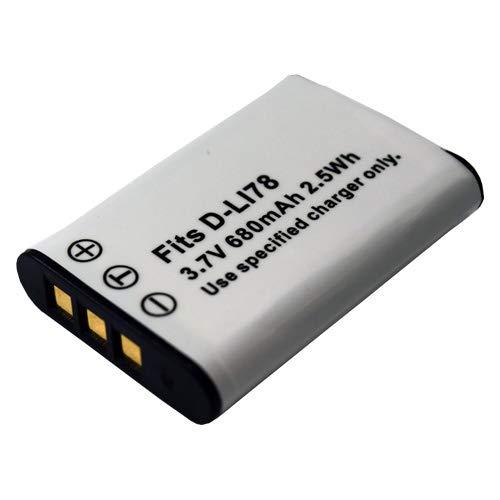 【JC】PENTAX/ペンタックス D-LI78 互換バッテリー Optio W60 W80 対応