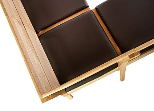 Amazon Marke –Alkove – Hayes – Moderne Eckbank mit gepolsterter Sitzfläche, Wildeiche - 5