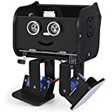 ELEGOO Roboter Penguin Bot Zweibeiniger Roboter Baukasten Kompatibel mit Arduino IDE, Mint Spielzeug mit Tutorial für Hobbybastler, STEM Toys für Kinder und Erwachsene V2.0 (Schwarz)