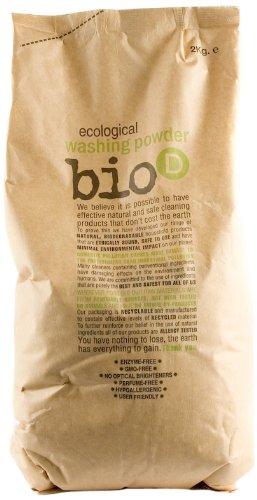Bio-d Washing Powder 2 kg (Pack of 2
