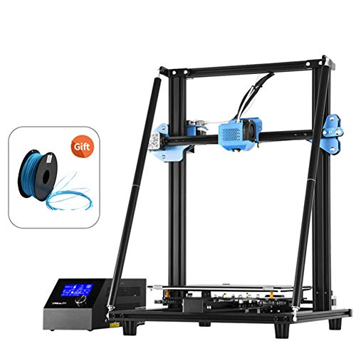 3D Printer CR-10 V2 Creality, Removable Fiberglass Construction Plate and Resume Printing 300 x 300 x 400 mm Give 1 3D Filament as Gift