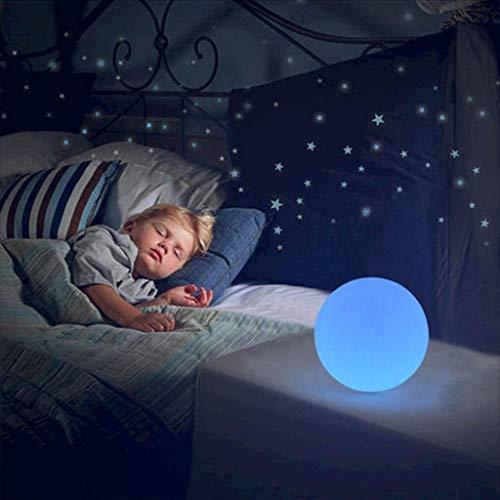 Luz de Jardín con Mando a Distancia, 16 Cambio de Color, IP65 a Prueba de Agua, Luces de Bola LED, Lámpara Decorativa Interior y Exterior (Size : 30cm/11.8in)