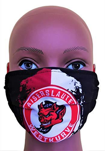 Kaiserslautern Maske (schwarz), Kaiserslautern Westkurve Maske, Kaiserslautern Vermummungsmaske
