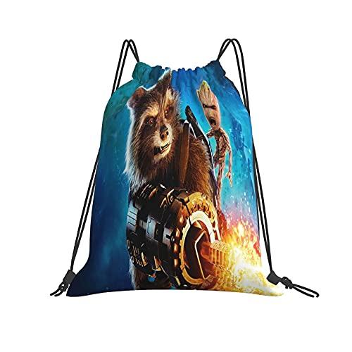 Baby Groot Mochila con cordón para mujer, bolsa de cincha, bolsa de gimnasio, mochila deportiva