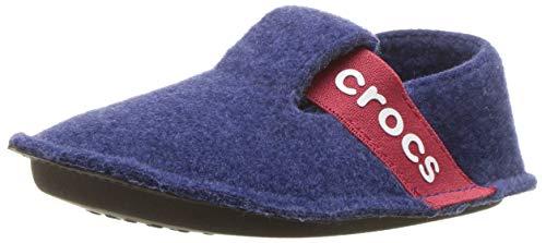 Crocs Classic Slipper K, Zapatillas de estar por casa, Unisex Niños, Azul (Cerulean Blue), 34-35 EU