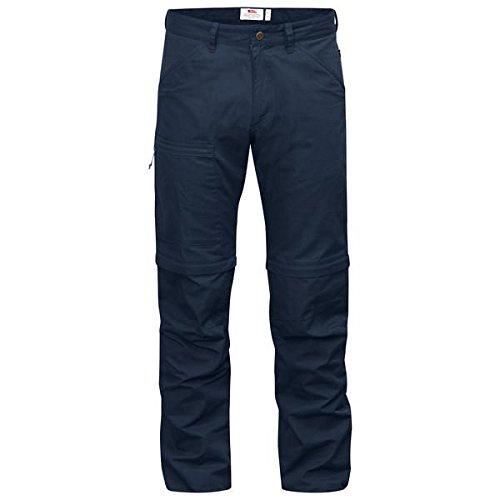 FJÄLLRÄVEN Homme High Coast Zip Off Trousers Pantalon FR:46 Bleu Marine