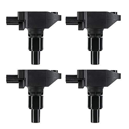 A-Premium Engine Ignition Coil Packs Compatible with Mazda RX-8 2004-2011 1.3L 4-PC Set
