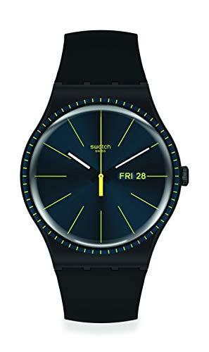 Reloj Swatch New Gent SUOB731 Black Rails