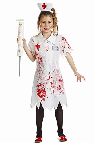 Disfraz Enfermera Zombie Talla 7-9 Aos Tamao Infantil