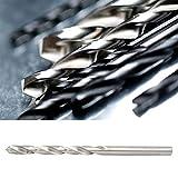 Broca de vástago recto, broca en espiral, 10 piezas de madera de alta precisión para taladro eléctrico para taladro de pistola normal((4.5 High Speed Steel 10 pcs/box 4241))