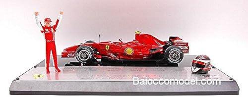 Hot Wheels HWM0551 Ferrari K.Raikkonen 2007 DRIV.C.1 18 MODELLINO DIE CAST Model kompatibel mit