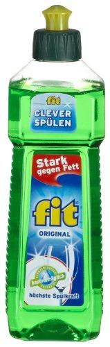 Fit Spülmittel, 8er Pack (8 x 500 ml)