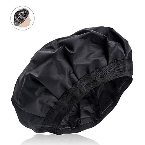 Swtylife - Gorro de pelo para acondicionamiento de calor profundo, SXG Steamer para tratamiento de cabello, gorra de terapia de cabello inalámbrica, gorro térmico JF