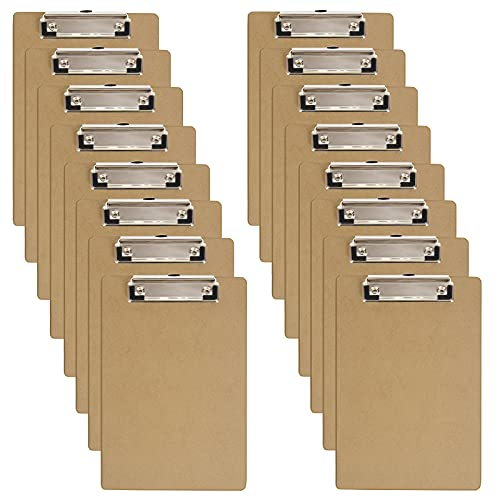 Clipboards 16 Pack Letter Size C...
