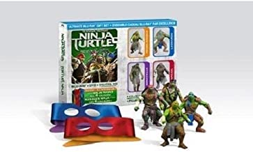 Teenage Mutant Ninja Turtles (Blu-ray + DVD + Digital HD) Ultimate Gift Set